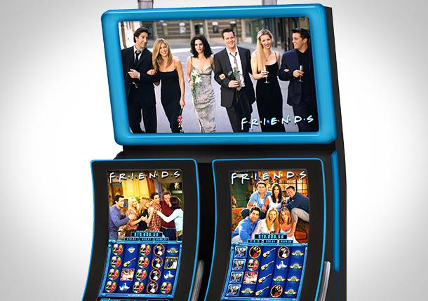 TV show Friends featured gaming machine