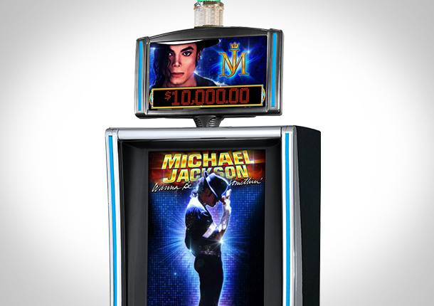 Michael Jackson featured gaming machine