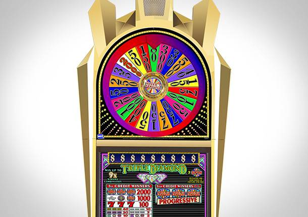 Wheel of Fortune featured gaming machine