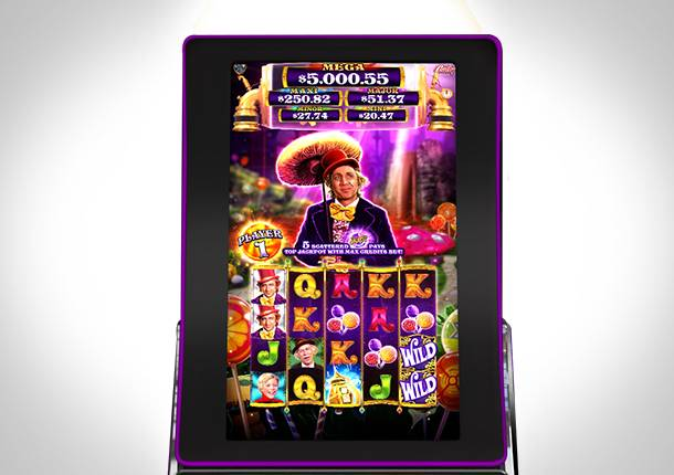 Willy Wonka Gaming Machine