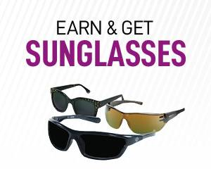 Earn & Get Sunglasses